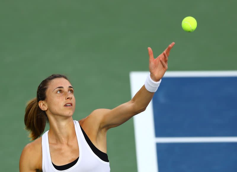 Tennis: Privilege to be back on court, says Palermo top seed Martic
