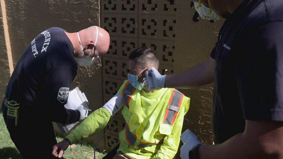 Arizona community becomes COVID-19 hot spot without access to speedy testing (ABC News)