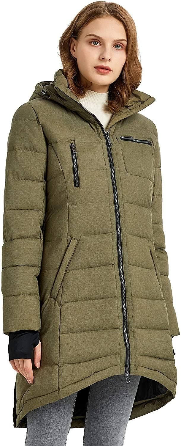 <p>This <span>Orolay Down Coat</span> ($140, originally $160) has a nice pop of color that will definitely garner compliments. We like the pockets for added convenience.</p>