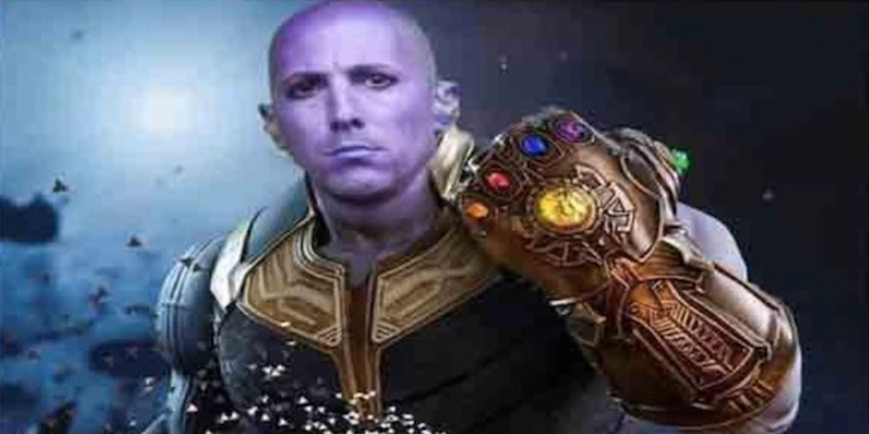 Maynard James Keenan Thanos snaps Taylor Swift with meme celebrating Fear Inoculum hitting No. 1