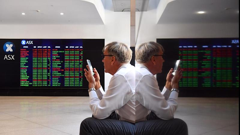 Share market edges higher, $A gets a boost