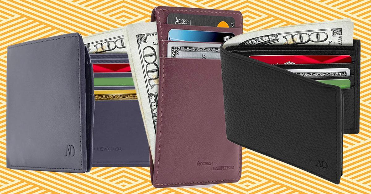 Access Denied RFID-blocking wallets are so compact yet so accommodating. (Photo: Amazon)