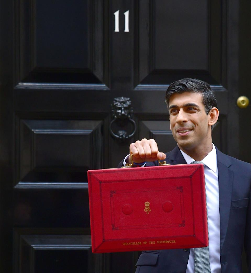 Chancellor Rishi Sunak will deliver the Budget on Wednesday (Photo: Photo by Jeff Overs/BBC News & Current Affairs via Getty Images)