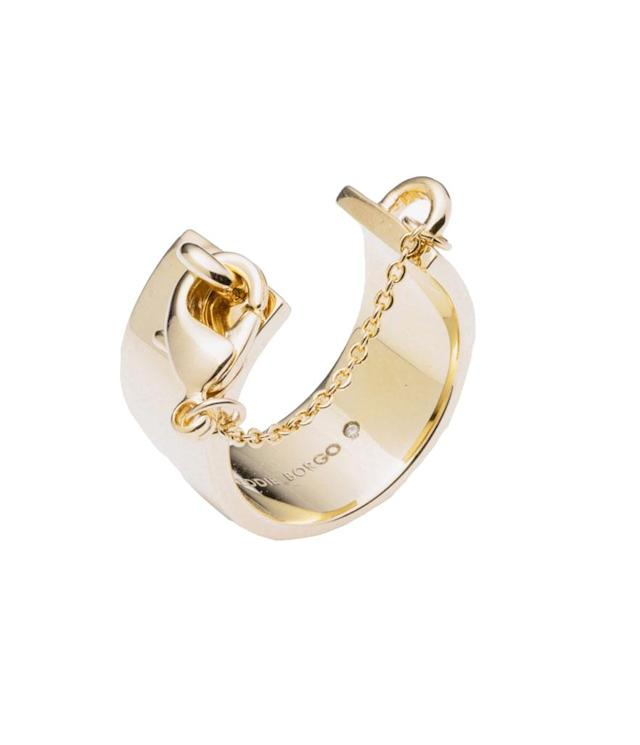 "<p>Safety Chain Ring in Gold, $160, <a href=""http://www.eddieborgo.com/jewelry/rings/safety-chain-ring-gold-1"" rel=""nofollow noopener"" target=""_blank"" data-ylk=""slk:eddieborgo.com"" class=""link rapid-noclick-resp"">eddieborgo.com</a> </p>"