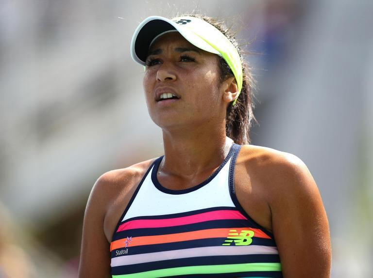 Heather Watson secures first tour win since Wimbledon but tough Anett Kontaveit challenge awaits