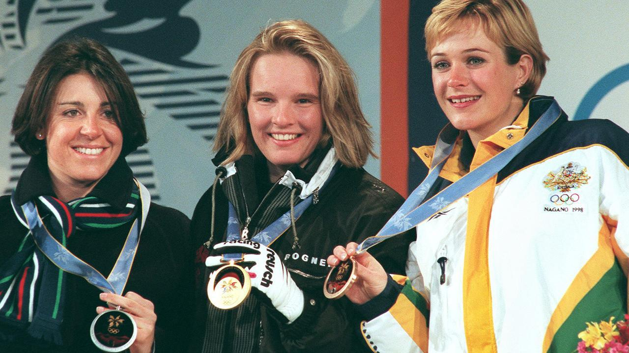 <p>Steggall claimed Australia's first-ever individual medal in Nagano in the women's slalom.</p>