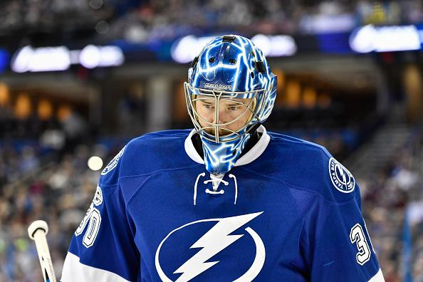 the best attitude 7f143 aac3d LA Kings trade for Ben Bishop from Tampa Bay Lightning