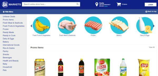 Online Grocery Delivery in the Philippines - SM Markets