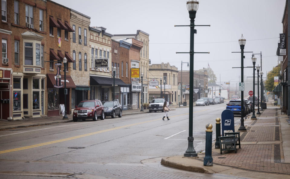 Image: How one teacher?EUR(TM)s Black Lives Matter lesson divided a small town in Wisconsin (Darren Hauck / for NBC News)