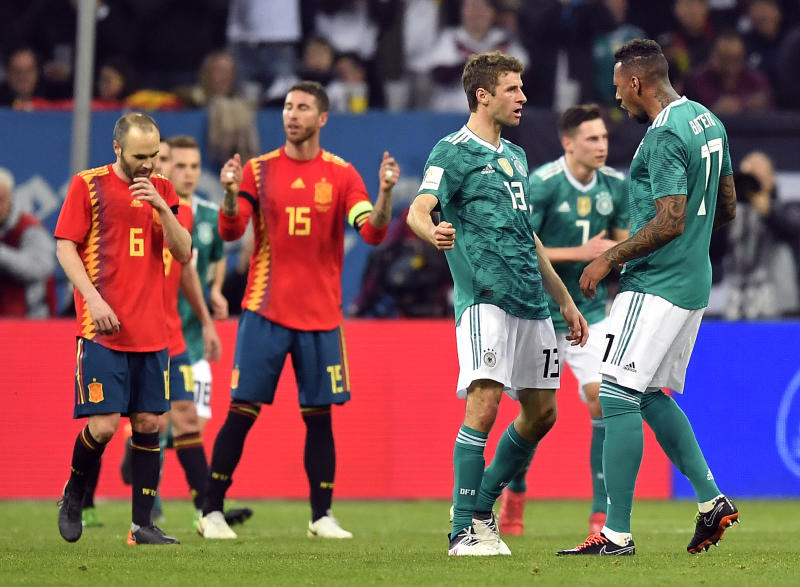 Image result for Germany 1-1 Spain: Three (3) Key Things we learnt from the International friendly match.