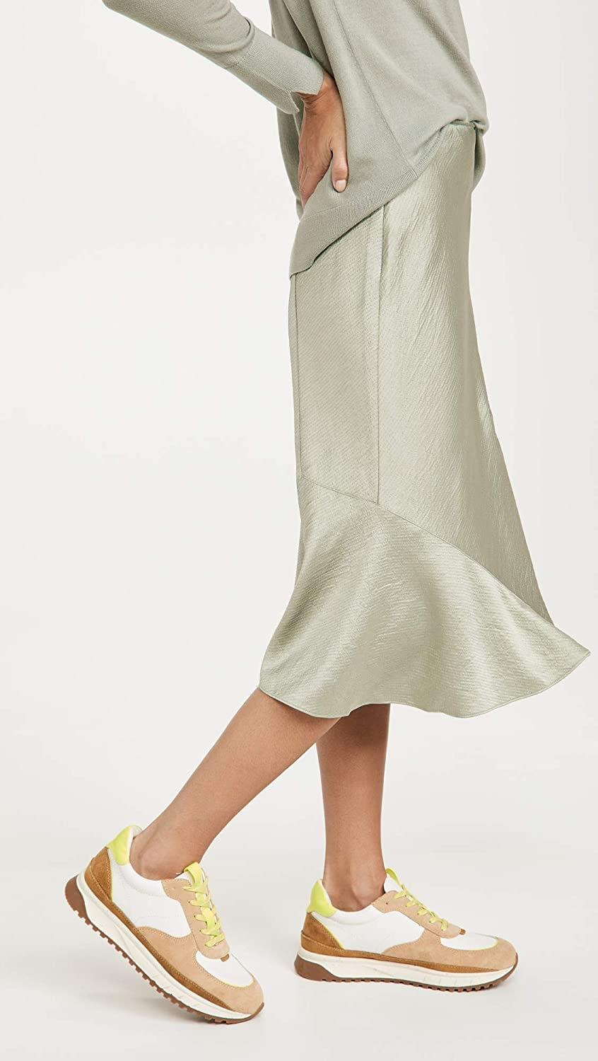 <p>Rock this <span>Club Monaco Seamed Slip Skirt</span> ($75) with sneakers or sandals.</p>