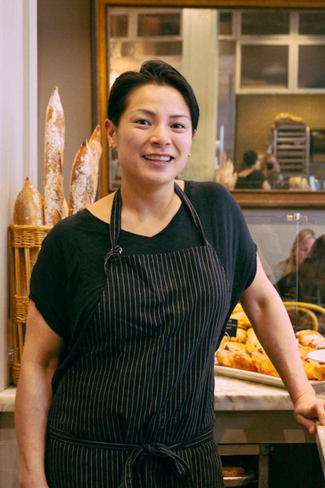 """<p>Belinda Leong began her career as a pastry chef at Restaurant Gary Danko in San Francisco in 1999. After eight successful years, she left the restaurant for Europe to stage at some of the most esteemed restaurants and patisseries in Paris, Barcelona, and Copenhagen. After two years in Europe, Leong returned to the Bay Area and became pastry chef at Manresa Restaurant, a two star Michelin Restaurant, in Los Gatos, California before opening <a rel=""""nofollow"""" href=""""http://bpatisserie.com/story/"""">b. Patisserie</a>. Leong was nominated for a James Beard Award in 2014 for Best Pastry Chef.</p>"""