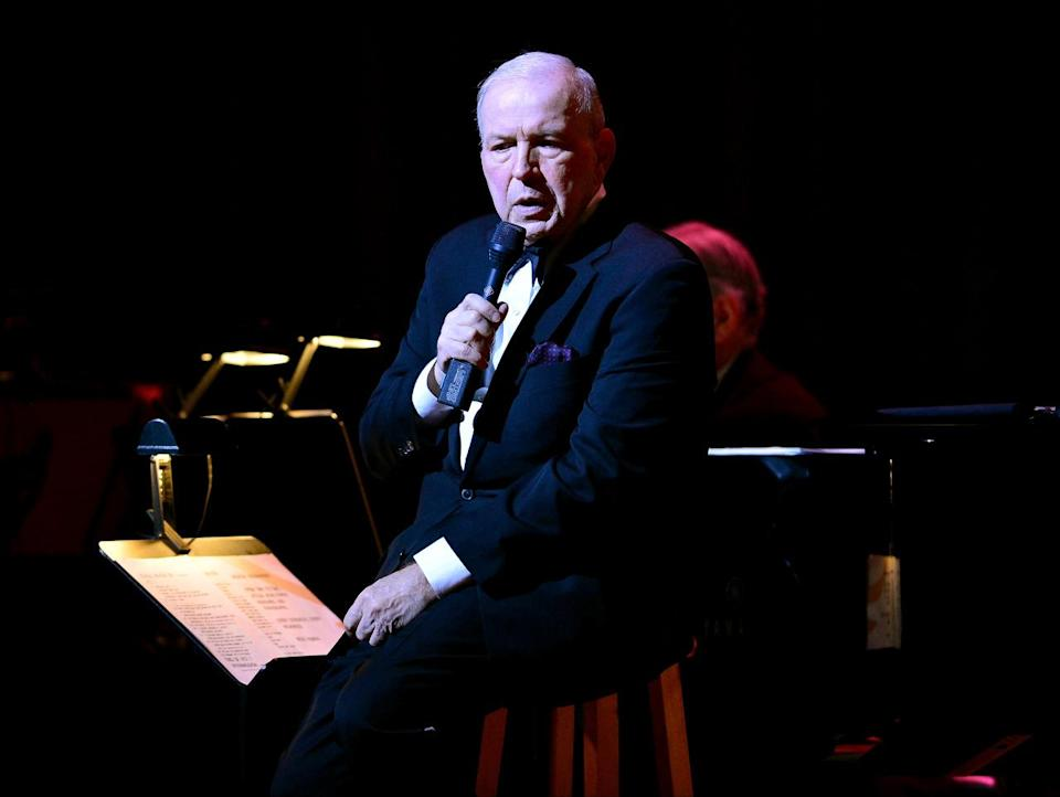 Frank Sinatra Jr. was an American singer/songwriter/conductor, the son of Frank Sinatra, and the younger brother of Nancy Sinatra. He died after suffering a cardiac arrest while on tour in Daytona Beach, Florida, on March 16. He was 72. (Photo: Getty Images)