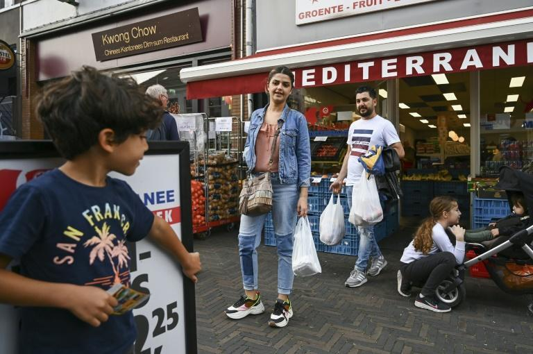 They do most of their shopping at Lidl and once a month take the bus to the nearby town of Arnhem to stock up on Arabic bread and spices