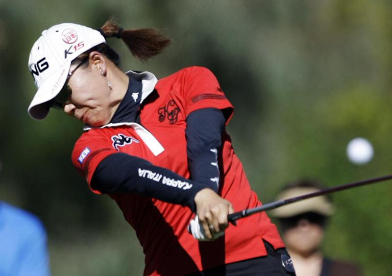Ichinose in 3-way tie for lead at Mizuno Classic