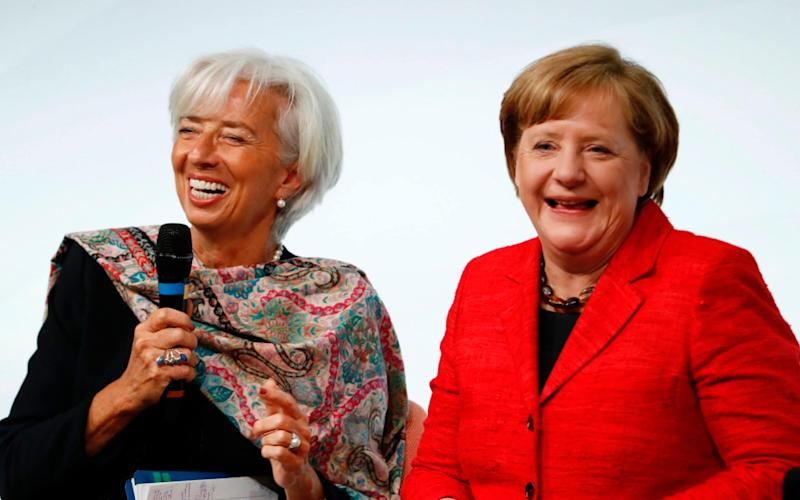 One in three Germans laughs less than five times a day, according to the study - AFP