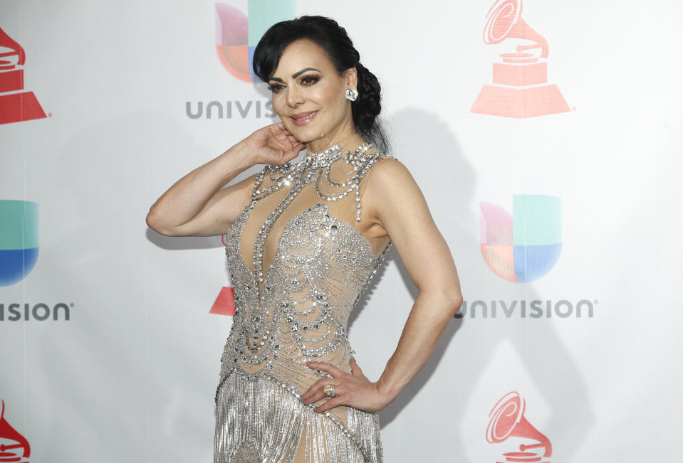Maribel Guardia (Photo by Eric Jamison/Invision/AP)
