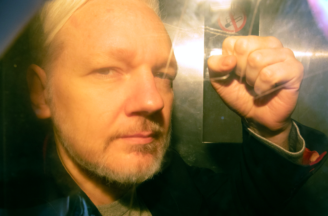"This year was the year Julian Assange <a href=""https://uk.news.yahoo.com/julian-assange-time-ecuadorian-embassy-100211217.html""><strong>was finally removed</strong></a> from the Ecuadorian embassy and arrested after his asylum was withdrawn. The WikiLeaks founder was sentenced to 50 weeks in prison for breaching the Bail Act, though a <a href=""https://uk.news.yahoo.com/sweden-drops-rape-investigation-involving-julian-assange-132900305.html""><strong>rape investigation against him</strong></a> was later dropped. (Getty)"