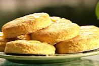 """<p>Rely on that 4pm sugar fix to see you through the day? Try these for size… </p><p>Get the recipe from <a href=""""http://www.foodnetwork.com/recipes/paula-deen/sweet-potato-biscuits-recipe.html"""" rel=""""nofollow noopener"""" target=""""_blank"""" data-ylk=""""slk:Food Network"""" class=""""link rapid-noclick-resp"""">Food Network</a>.</p><p><br></p>"""