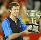 Marat Safin was the last Russian man to lift a Grand Slam trophy, at the 2005 Australian Open