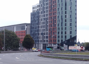 <p>Beckley Point, Plymouth, by Boyes Rees Architects. Located on one of the highest points in the city centre, it is a 23-storey student housing block. </p>