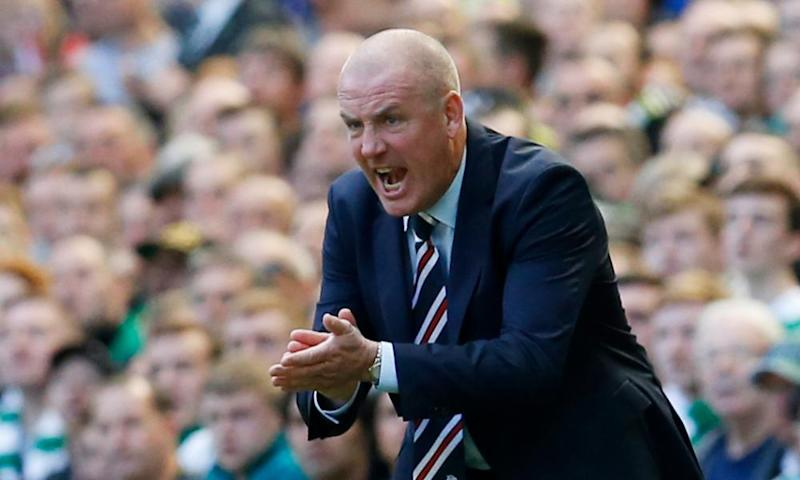 Mark Warburton at Rangers