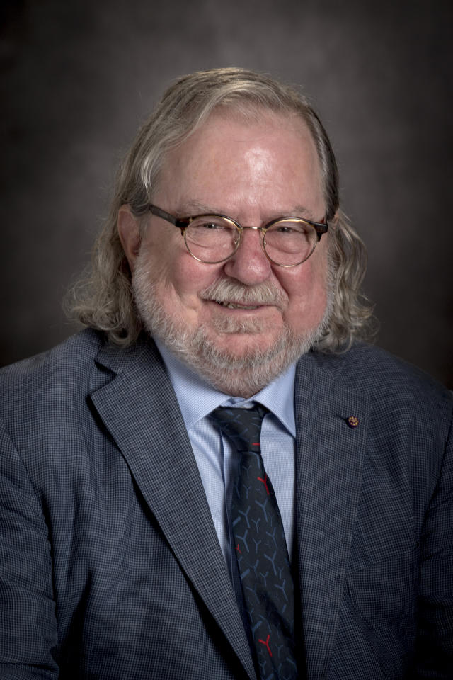 This undated photo provided by the University of Texas MD Anderson Cancer Center shows James P. Allison, Ph.D., of the University of Texas MD Anderson Cancer Center, winner of the 2018 Albany Medical Center's Prize in Medicine and Biomedical Research. (University of Texas MD Anderson Cancer Center via AP)