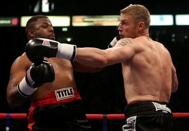 Boxing – International Heavyweight Contest – Andrew Flintoff v Richard Dawson – Manchester Arena