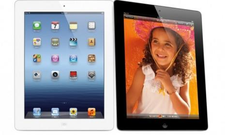 The latest full-size iPad (pictured) boasts a Retina display, but the rumored iPad mini may not be robust enough to support the same screen.