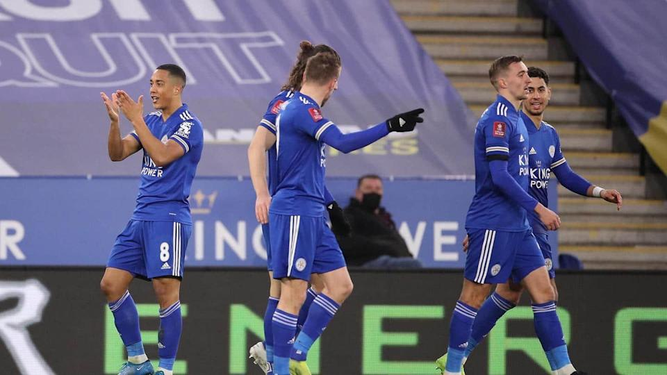 Leicester City beat Manchester United in FA Cup: Records broken