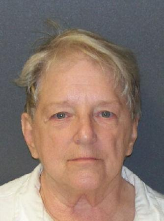 Genene Jones, 66, is pictured in Texas in this undated handout photo obtained by Reuters May 26, 2017.  Texas Department of Criminal Justice/Handout via REUTERS
