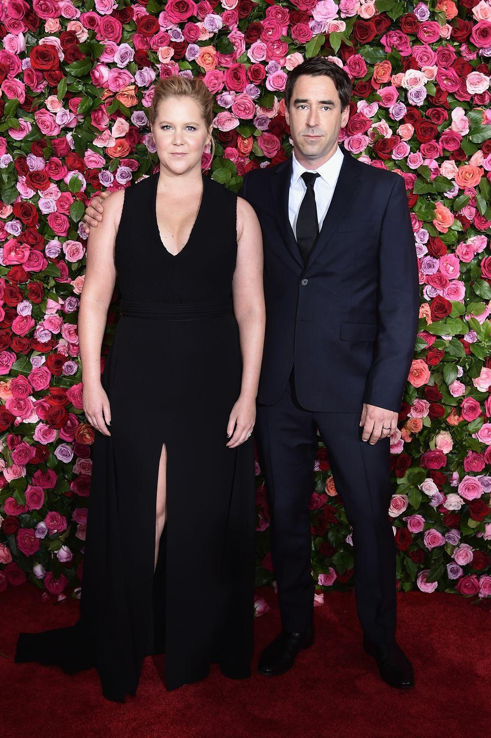 """<p>The comedian met Fischer through her assistant, Molly, who is <em>actually</em> Fischer's sister, so she's basically employee of the year. </p><p>Fischer is an award-winning chef who has served food for none other than the Obamas and Jake Gyllenhaal. <a href=""""https://abcnews.go.com/GMA/Culture/amy-schumer-reveals-met-husband-shares-details-secret/story?id=54391244"""" rel=""""nofollow noopener"""" target=""""_blank"""" data-ylk=""""slk:On one vacation to Martha's Vineyard,"""" class=""""link rapid-noclick-resp"""">On one vacation to Martha's Vineyard,</a> Molly suggested that her brother should pop on by Schumer's vacation house to cook for her, and the rest is history.</p>"""