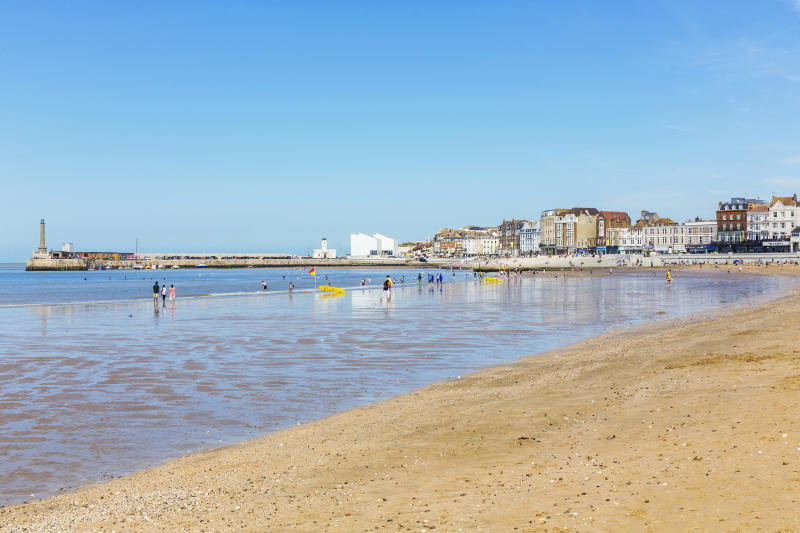 Enjoy a day at Margate beach. (Thanet District Council)