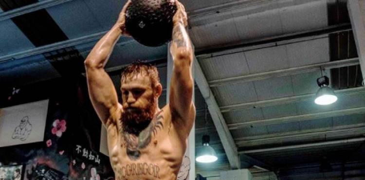 Conor McGregor reveals private training footage ahead of UFC 229 fight with Khabib Nurmagomedov