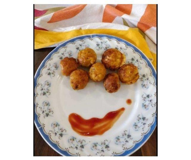Recipe For Aloo Bonda (No Fry, Less Oil)