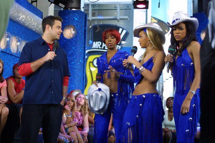 Carson Daly S Trl Costume Was Made For Millennials