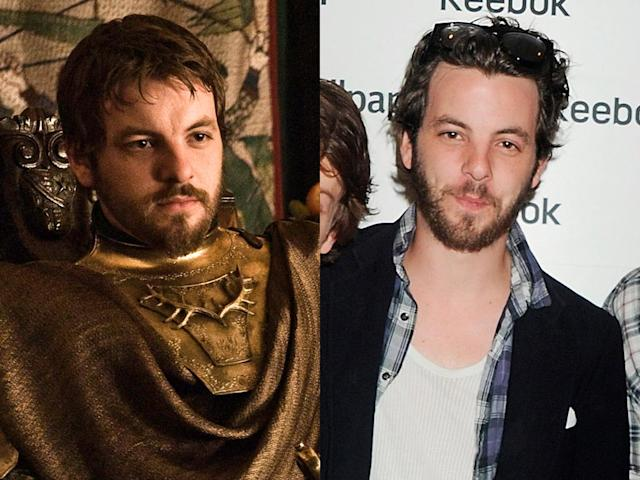 "<b>Gethin Anthony (Renly Baratheon)</b><br><br>Gethin Anthony shares the same facial hair as his ""Game of Thrones"" character Renly Baratheon, but Anthony keeps his mane a tad bit longer. Renly is the younger son of the House Baratheon. Following the death of his oldest brother King Robert, Renly claimed the Iron Throne for himself. Unfortunately for fans of the charming gay prince, Renly saw an untimely death by a murderous shadow earlier this season."