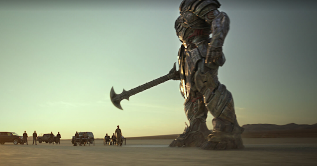 Megatron channels Arthurian legend in <i>The Last Knight</i> (Photo: Paramount)