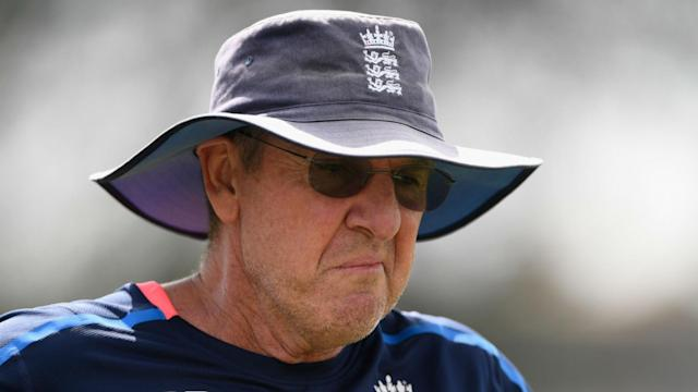 "Trevor Bayliss said England's shambolic batting failure at Eden Park ""must have been a mental thing""."