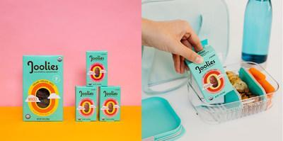 Joolies Organic Medjool Dates new 3 Pitted Date Snack Pack offers whole fruit snacking on the go! Organic medjool dates are a great source of natural energy, fiber and potassium and magnsesium. Perfect for busy schedules and kids' lunchboxes.