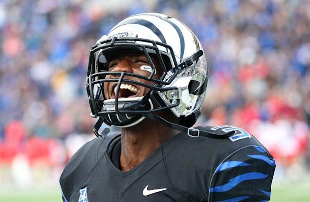 Memphis' Anthony Miller has 84 catches for 1,283 yards and 11 TDs this season. (Getty)