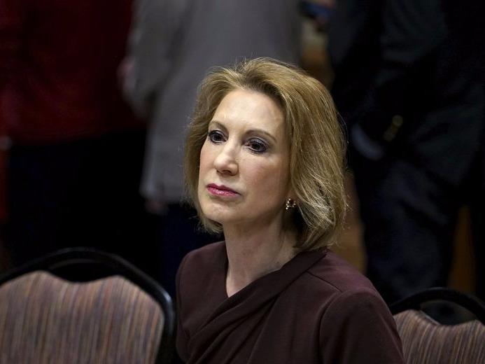 Carly Fiorina, Republican presidential candidate, looks on at the Southern Republican Leadership Conference in Oklahoma City, Oklahoma May 23, 2015.   REUTERS/Rick Wilking