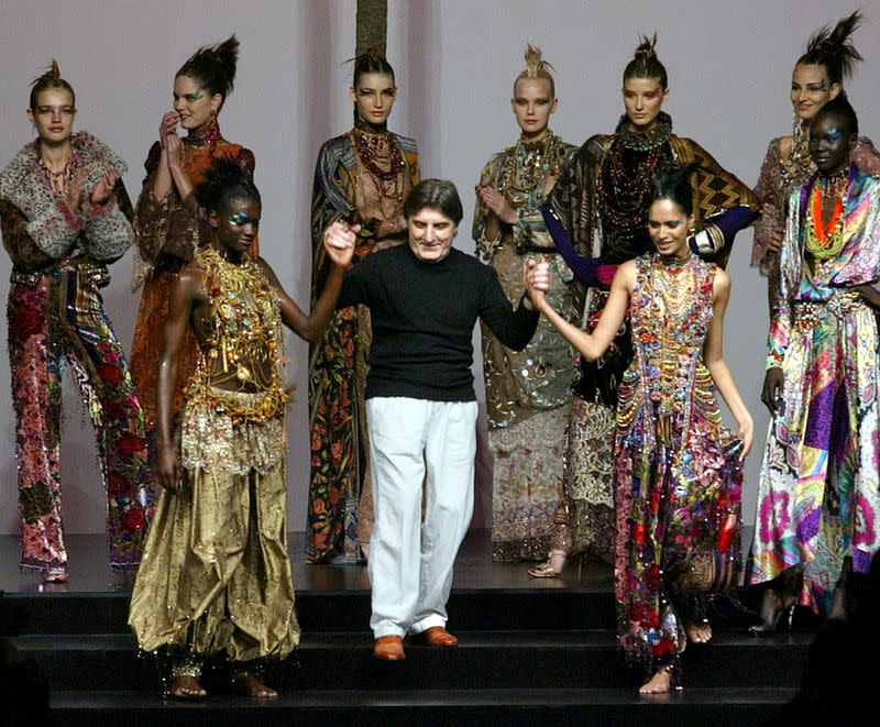 French fashion designer Ungaro dies at 86