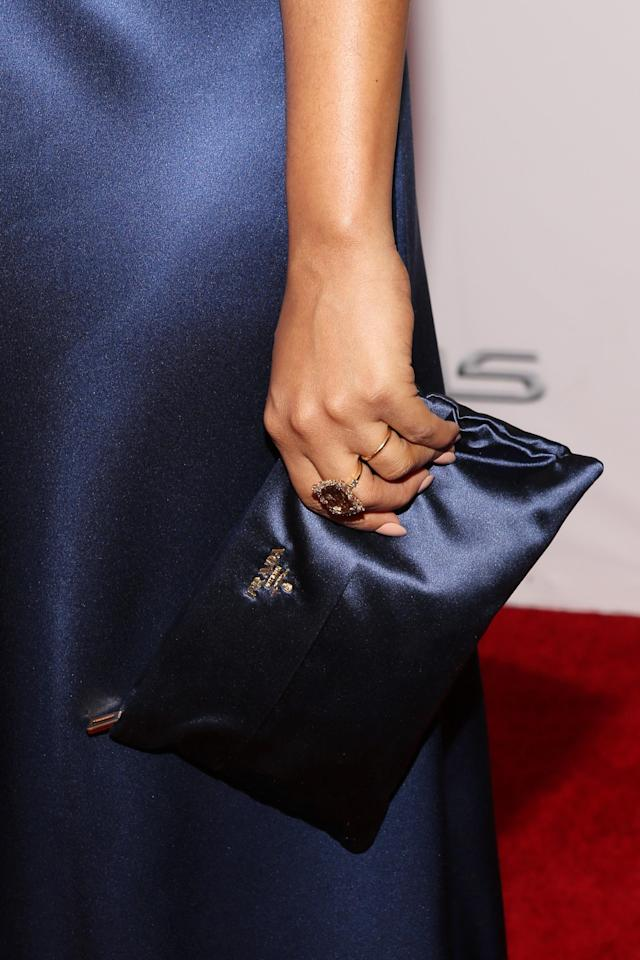 PASADENA, CA - FEBRUARY 22: Actress Kerry Washington (fashion detail) attends the 45th NAACP Image Awards presented by TV One at Pasadena Civic Auditorium on February 22, 2014 in Pasadena, California. (Photo by Jesse Grant/Getty Images for NAACP Image Awards)