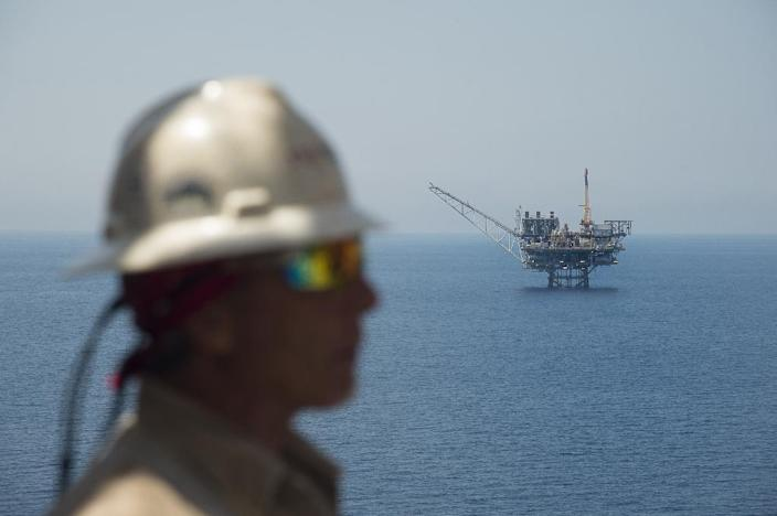 Israel hopes its gas reserves will enable it to forge strategic ties within the region and become a supplier for Europe (AFP Photo/AHIKAM SERI)
