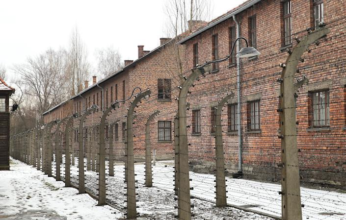 Auschwitz, the former Nazi concentration camp. (Photo: SOPA Images via Getty Images)