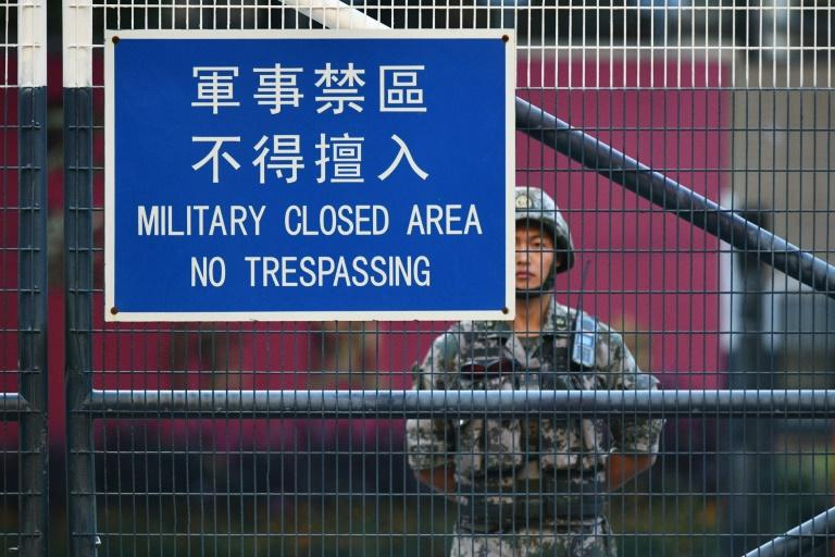 The protests are framed by fears Beijing may deploy its security forces to quell the billowing unrest