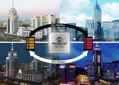 Microchip's DIGI OTN processor family was key in enabling China Mobile to complete multi-vendor interoperability tests for the world's first bandwidth-on-demand services.
