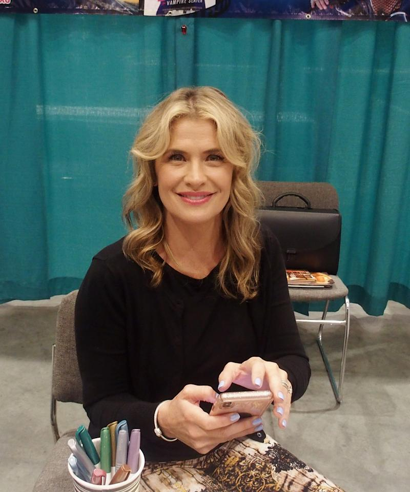 RALEIGH, NC - JULY 25: Kristy Swanson attends GalaxyCon Raleigh 2019 at Raleigh Convention Center on July 25, 2019 in Raleigh, North Carolina. (Photo by Bobby Bank/Getty Images)