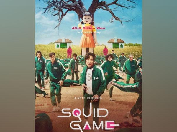 Poster of 'Squid Game' (Image source: Instagram)